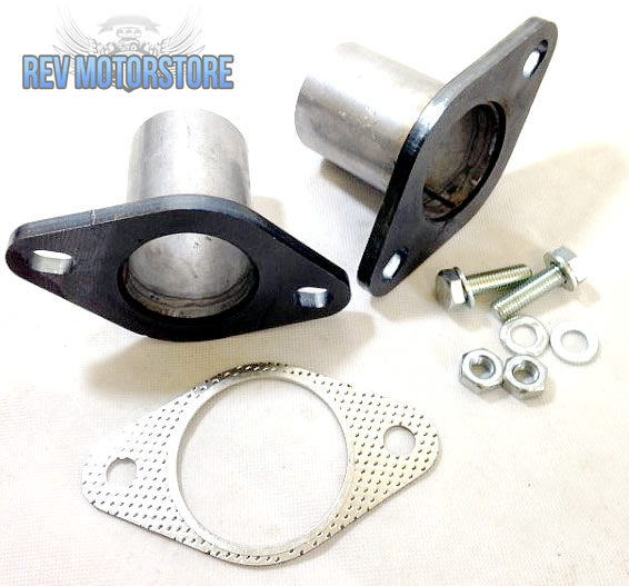 Exhaust steel flange pipe set mm quot joint seal gasket