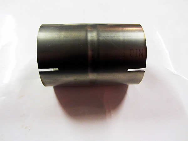 Exhaust pipe quot joiner mm coupler sleeve stainless steel