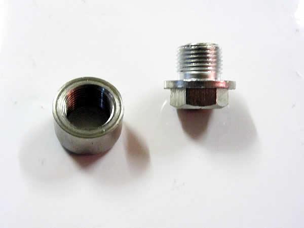 M18 X 1.5mm Sauerstoff o2 Lambdasonde Blindstopfen Kappe Edelstahl